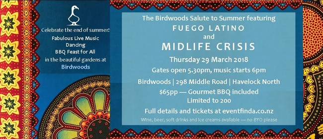 Birdwoods 'Salute to Summer' Bands & BBQ