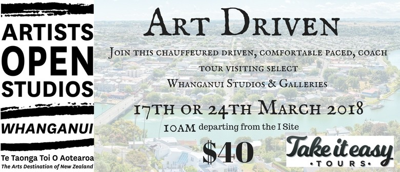 Whanganui Artists Open Studios - Art Driven