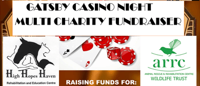Gatsby Casino Night Multi - Charity Fundraiser: CANCELLED