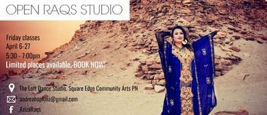 Aziza Bellydance Open RAQS Studio