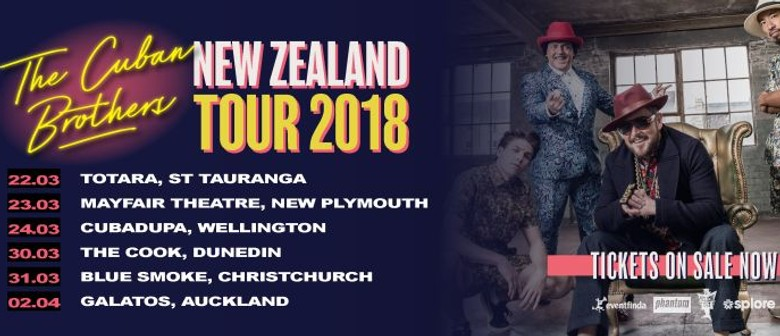 The Cuban Brothers New Zealand Tour
