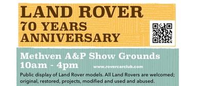 Land Rover 70 Years Anniversary