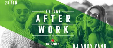 Afterwork with DJ Andy Vann