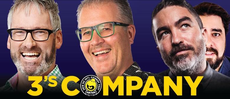 3's Company - Corbett, Ego and Henwood