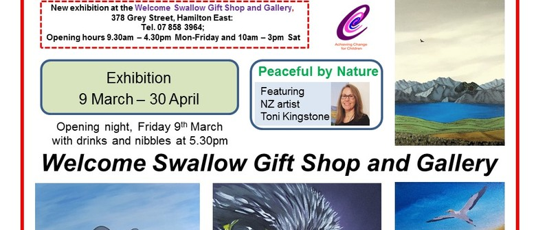 Peaceful by Nature - Art Exhibition