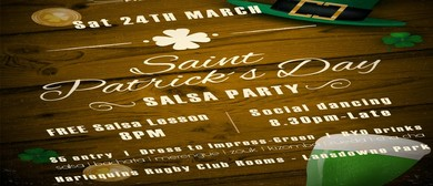Saint Patrick's Day Salsa Party