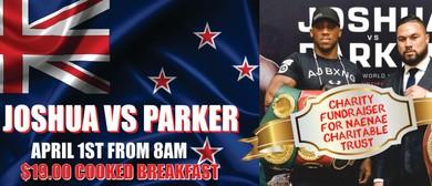 Parker vs Joshua Boxing Event