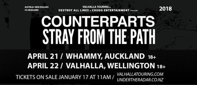 Counterparts & Stray from the Path NZ Tour