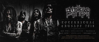 Belphegor NZ Tour With Wiegedood