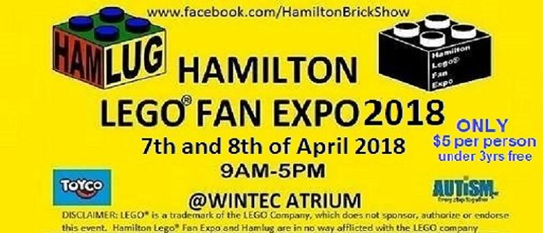Hamilton LEGO(R) Fan Expo 2018
