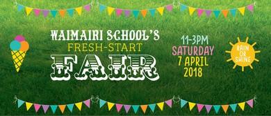 Waimairi School's Fresh Start Fair 2018