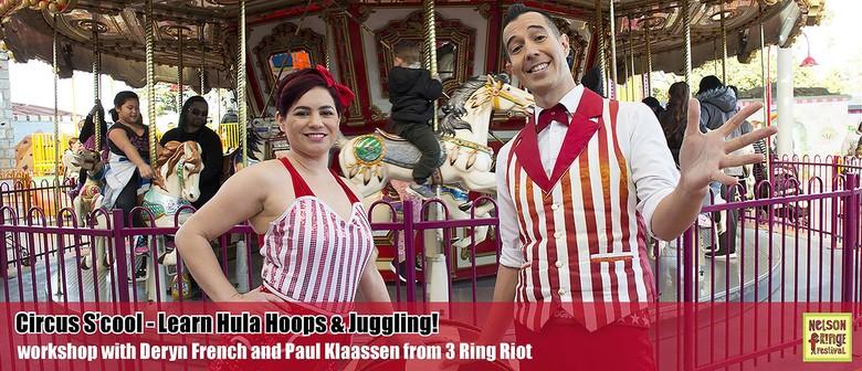 Workshop: Circus S'cool: Learn Hula Hooping & Juggling!