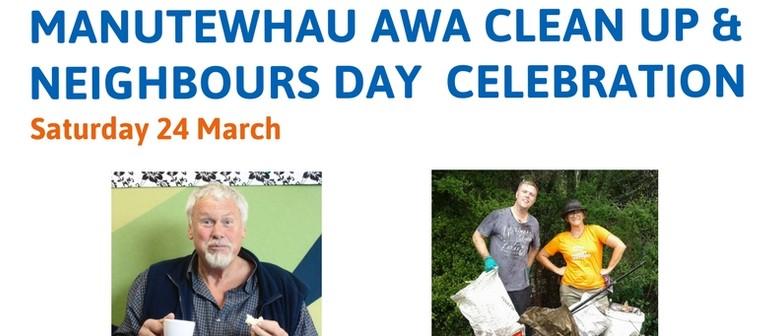 Manutewhau Awa Clean Up & Neighbours Day Celebration