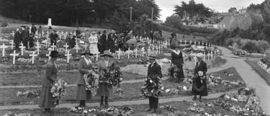 Family History Talk: 1918 Influenza Project, Karori Cemetery