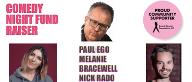 Comedy Night Fundraiser - Paul Ego and friends