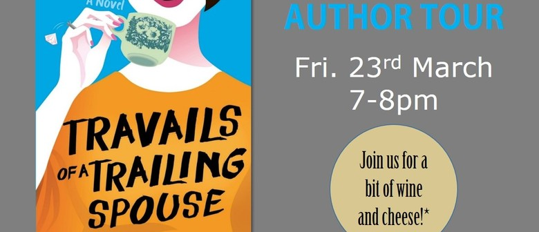 Author Tour - Travails of a Trailing Spouse