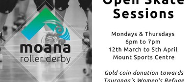 Learn to Roller Skate With Moana Roller Derby