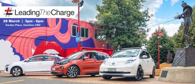 Hamilton Welcomes the #LeadingTheCharge EV Road Trip