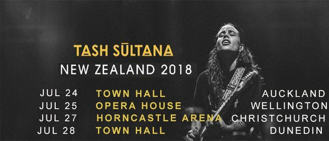 Tash Sultana New Zealand Tour 2018