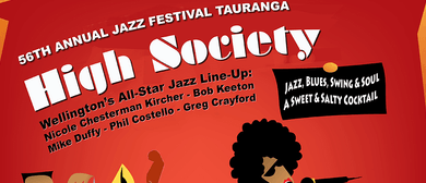 National Jazz Festival Tauranga with High Society