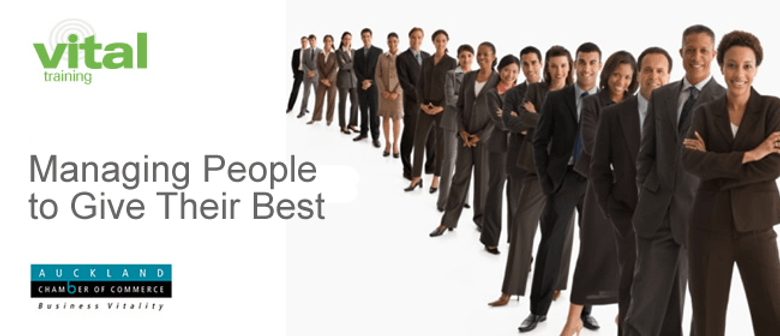 Vital Training: Managing People to Give Their Best