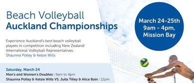 BVA Championships: Men's & Women's Doubles Beach Volleyball