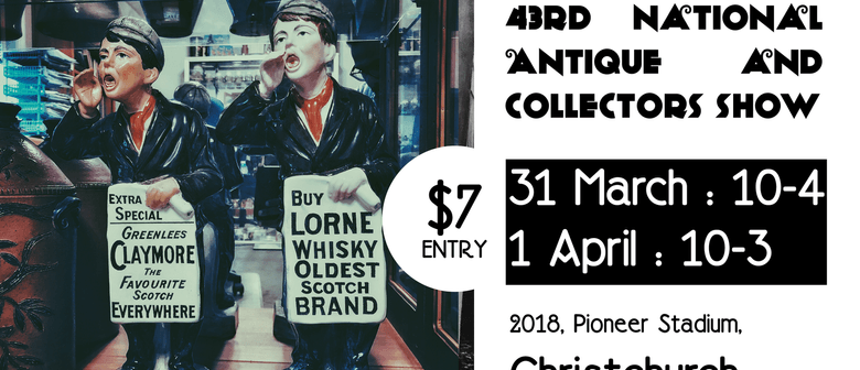 43rd National Antique and Collectors Show NZ