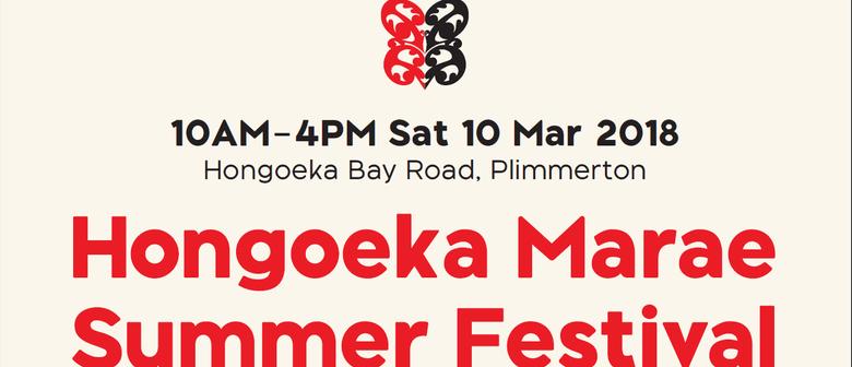 Hongoeka Marae Summer Festival
