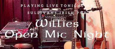 Willie's Open Mic