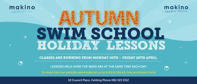 Autumn School Holiday Swim School Lessons