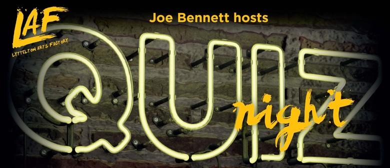 Quiz Night with Joe Bennett