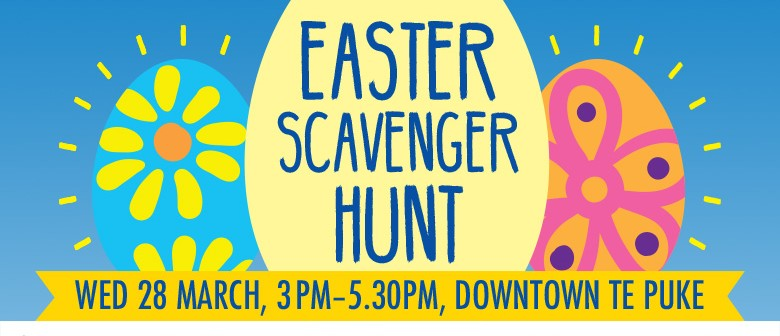 Epic Te Puke Easter Scavenger Hunt