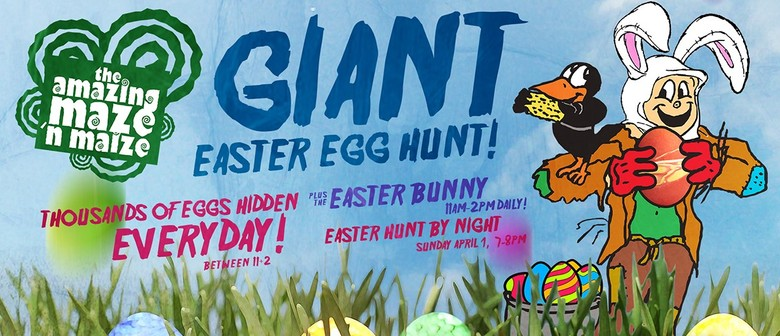 Amazing Maze N Maize Giant Easter Egg Hunt 2018