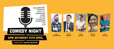 Island Bay United AFC Comedy Night