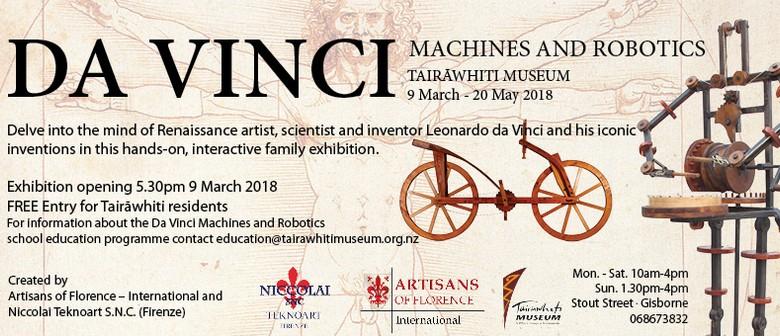 Da Vinci Machines and Robotics