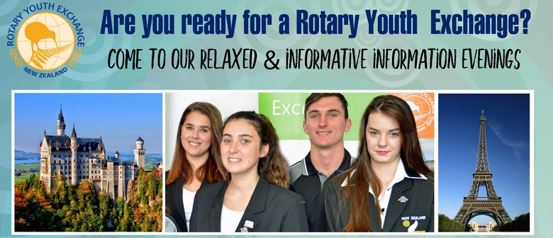 Rotary Youth Exchange - Information Evening