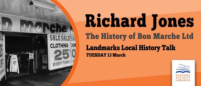 Landmarks Local History Talk - Bon Marche Hastings
