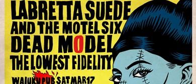 Labretta Suede, Dead Model & Lowest Fidelity St Paddy's Day