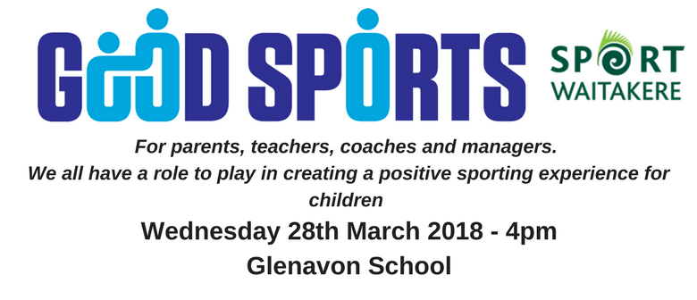 Sport Waitakere - Good Sports Workshop