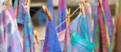 Tie Dye Scarves - Public Programme (PPH2-1)