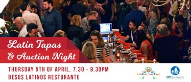 Latin Tapas and Auction Night