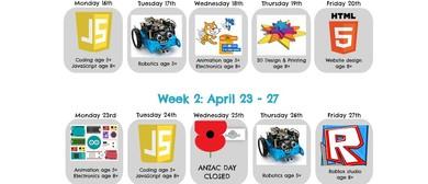 JavaScript Holiday Programme At Brain Play