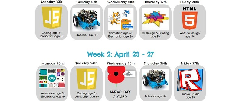 Website Design Holiday Programme at Brain Play