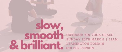 Outdoor Yin Yoga Session
