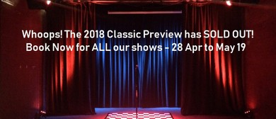 The Classic Comedy Fest Preview 2018