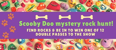 Scooby Doo Mystery Rock Hunt!