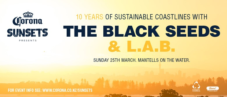 10 Yrs of Sustainable Coastlines w/ The Black Seeds & L.A.B