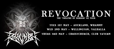 Revocation - The Theatre of Horror NZ Tour