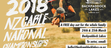 2018 NZ Cable National Wakeboarding Championships