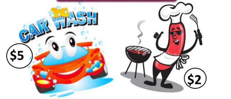 Fundraiser Kapiti - $5 Carwash, Sausage Sizzle, Bake Sale